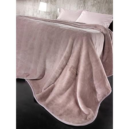 Βελουτέ κουβέρτα solid
