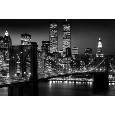 Φωτοταπετσαρία τοίχου θέμα πόλη